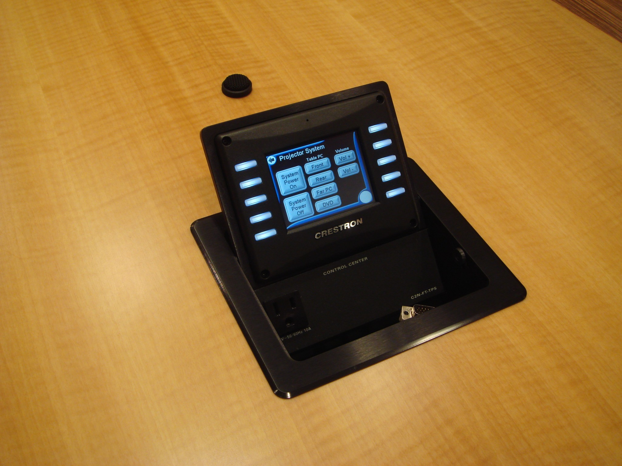 Table Mounted Touch Panel