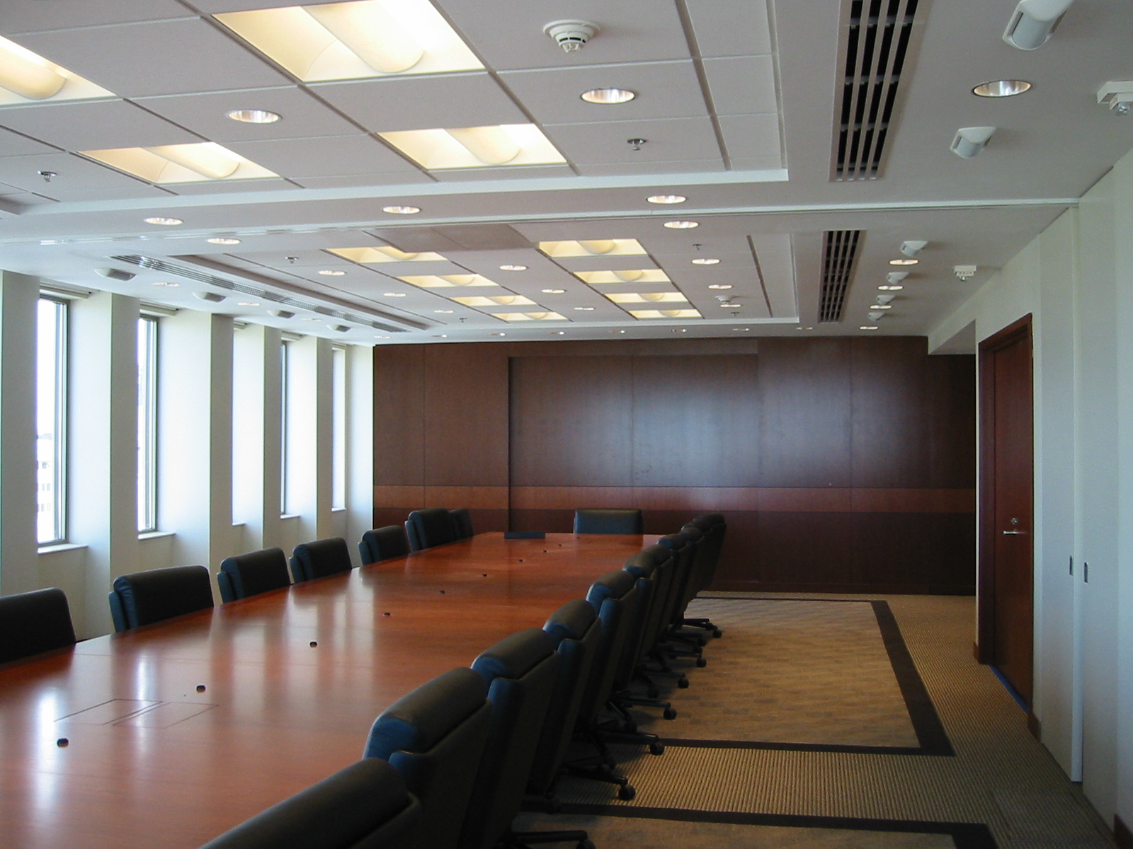 Boardroom with Presentation AV Wall