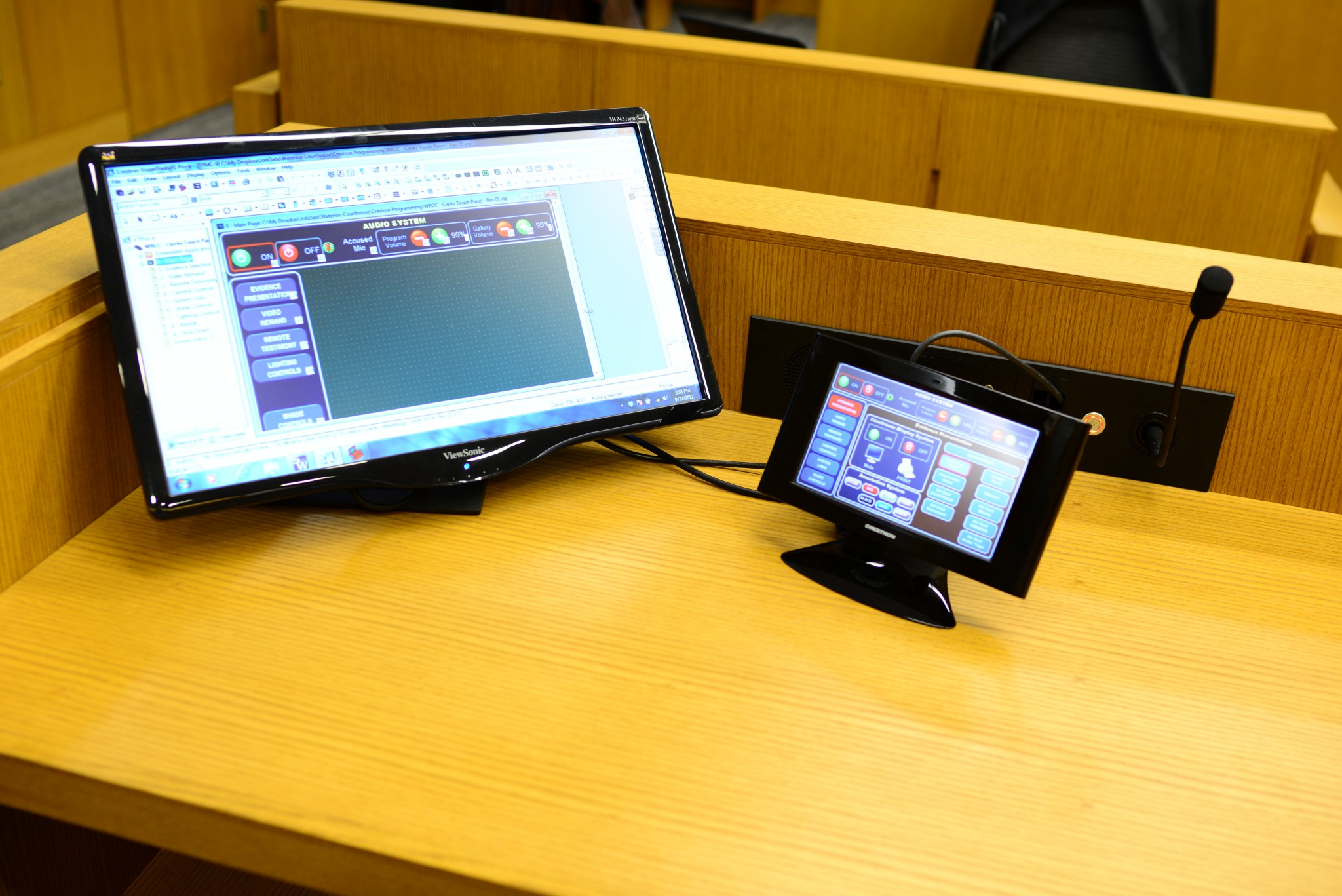 Courtroom – Clerks Desk