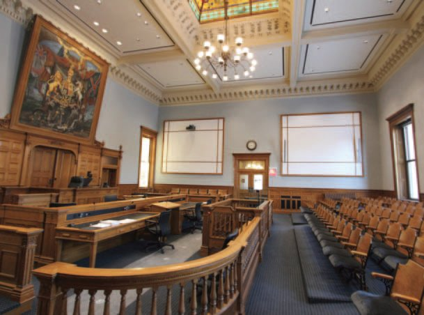 Heritage Courtroom